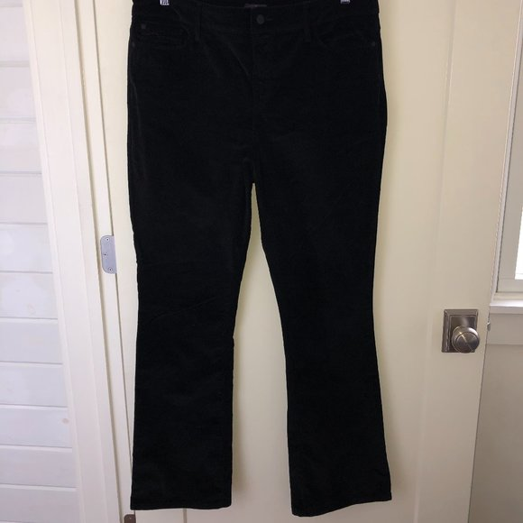 NYDJ bootcut corduroy jeans sz 14 NWOT black cords